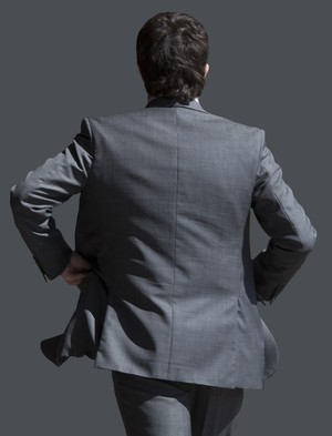 business man cutout