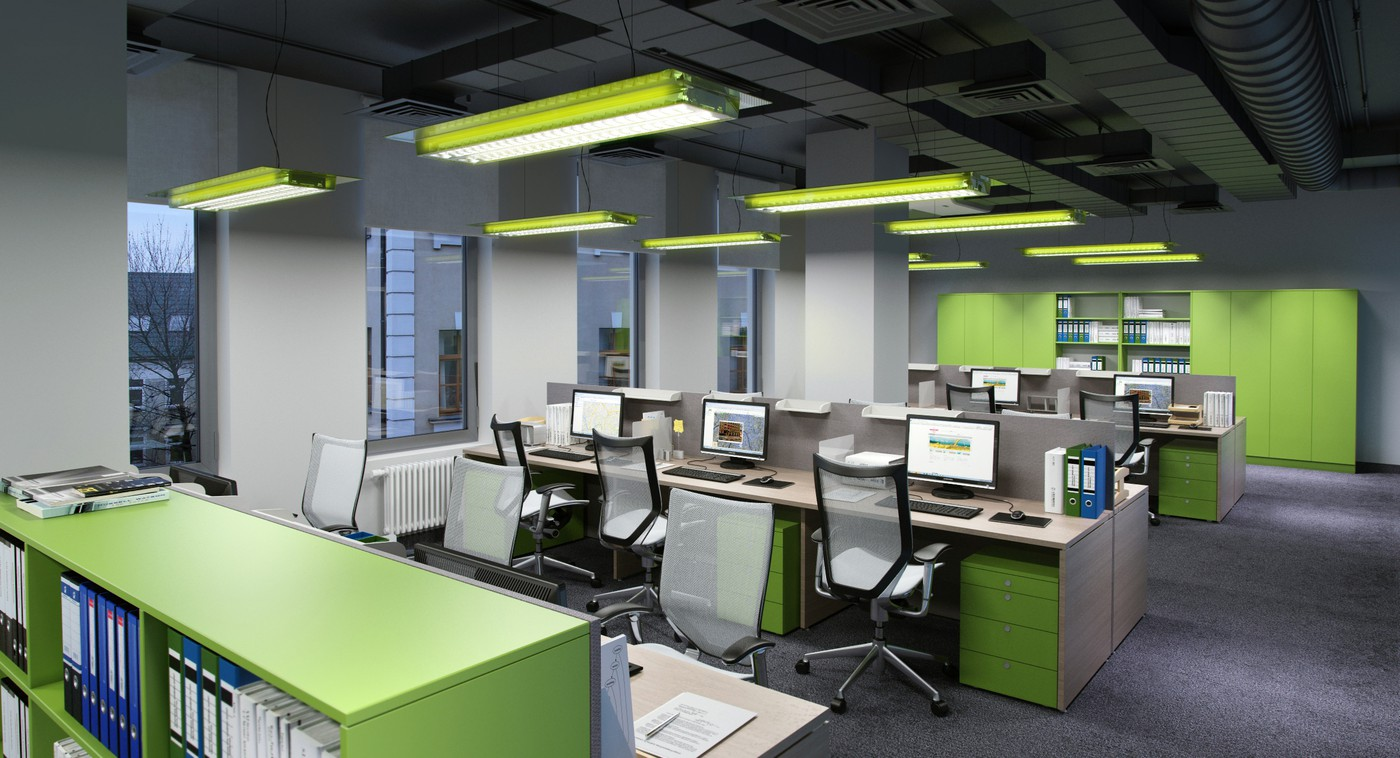 313 Set Of Modern Office Ceilings