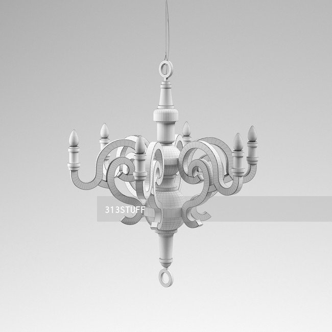 Paper chandelier moooi paper chandelier mozeypictures Gallery