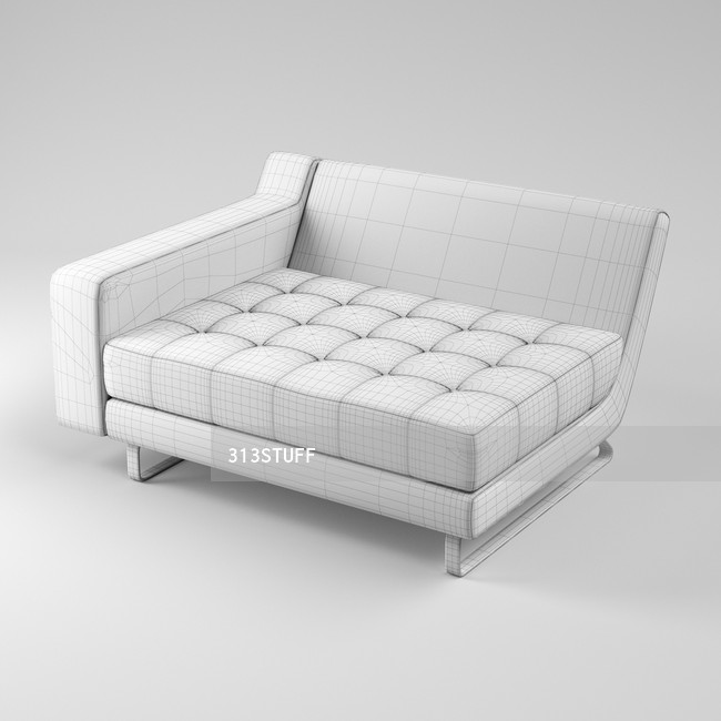 Naughtone Portion sofa small