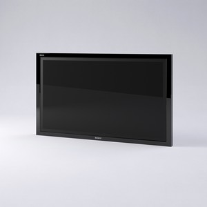 Sony Bravia tv screen