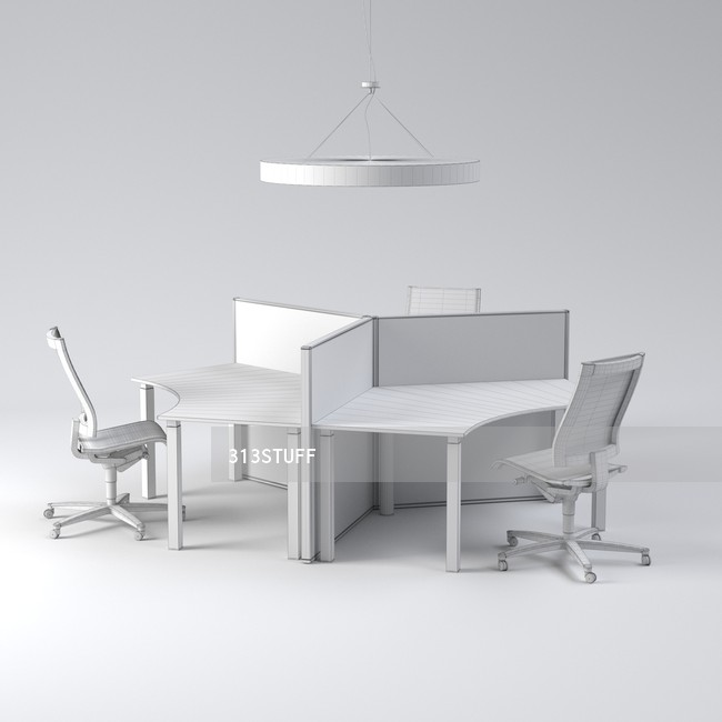 Wilkhahn working place set